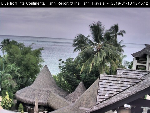 Tahiti live webcam